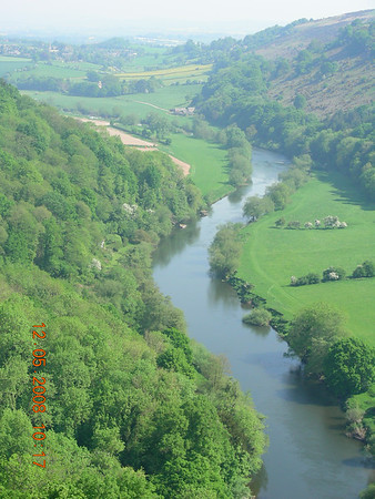 ENGLAND - SYMONDS YAT ROCK