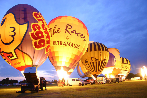 Balloons in Heaton park