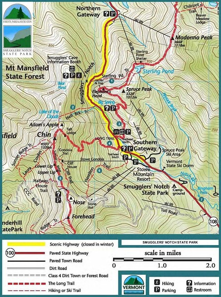 Smugglers' Notch State Park (Trails)