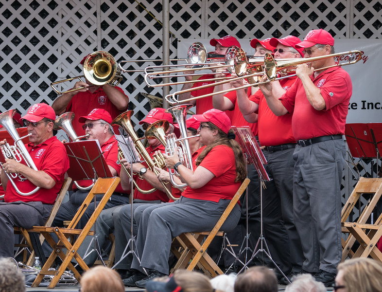 "Trombone feature for ""Stars and Stripes Forever"""