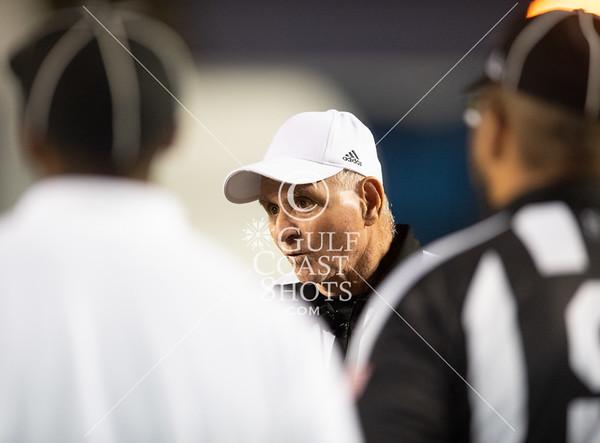 2018-11-02 St. John's vs Kinkaid FB @ Rice