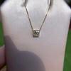 .70ct French Cut Diamond Bezel Pendant, 18kt Yellow Gold 13