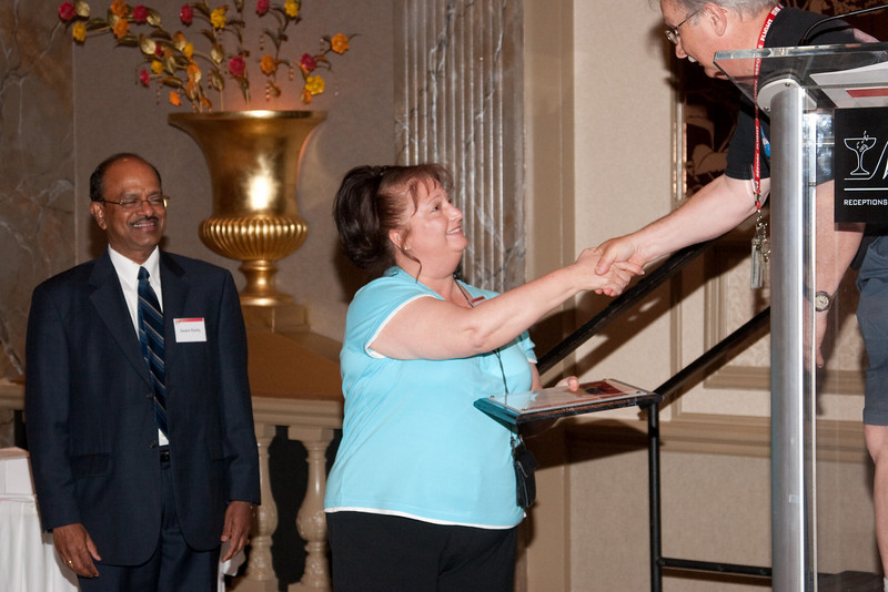 Joyce Fetherston, Peer Award recipient  -- SP Systems, Inc Fourth Annual Business Meeting & Luncheon, Greenbelt, MD