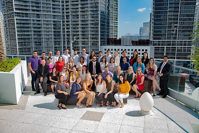 Abbvie Group Portrait/Miami Florida by Clay Wieland Photography