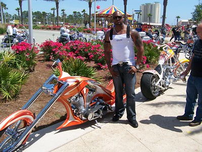 2009 Thunder Beach Spring Motorcycle Rally in Panama City, FL.