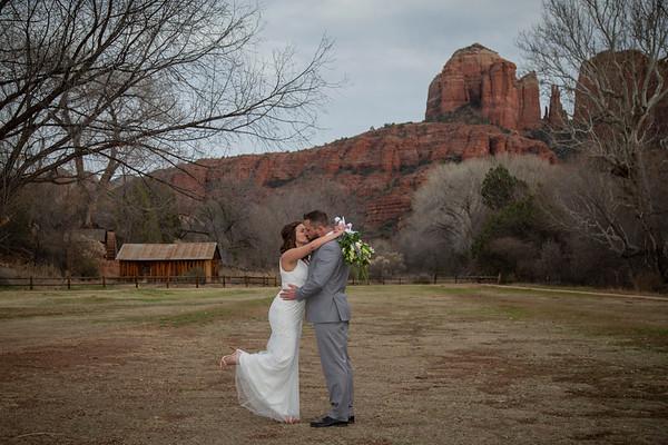 Katherine  & Christopher's Sedona Wedding