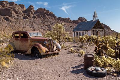 Techatticup ~ Eldorado Canyon, Nevada
