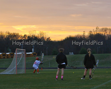 Lacrosse Girls South County 3/19/12