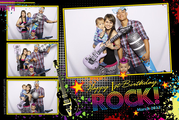 Rock's 1st Birthday (Fusion Portraits)