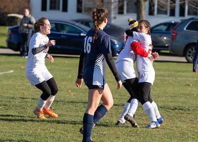 11/9/19: Girls' JV Soccer vs Hotchkiss