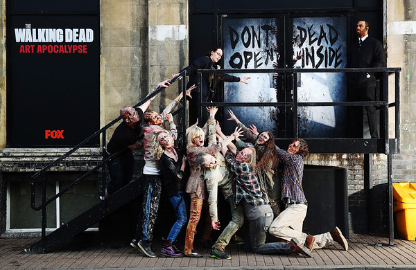 7/2/19 - Official The Walking Dead immersive art gallery
