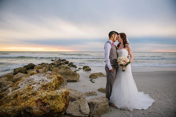 Sunset Beach Treasure Island Wedding