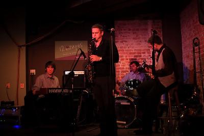Rich Williams and the Secret Organ Trio at 12 Grapes