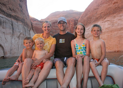 Lake Powell Family Trip