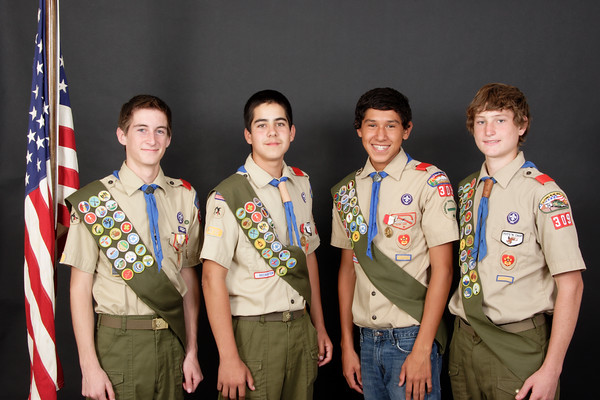 Troop 309 Group Portraits