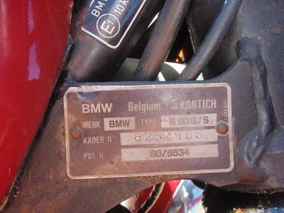 1982 BMW R80 G/S
