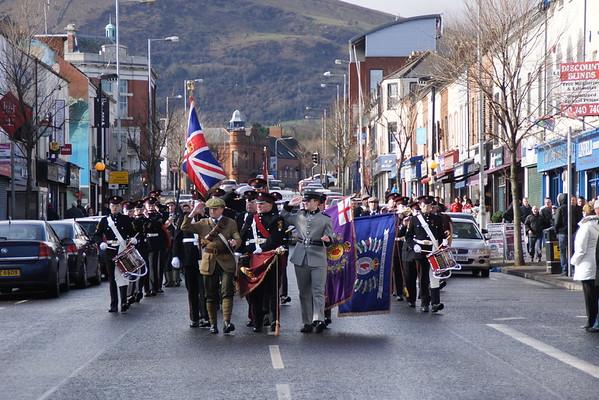 1st Shankill Somme Memorial Parade