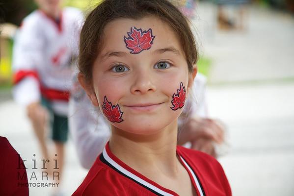 Canada Day 2012 on Kilmarnock Crescent