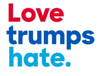 Love Trumps Hate | Give the gift of charitable contributions to organizations helping protect civil rights