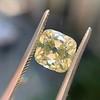 2.10ct Light Yellow Antique Peruzzi Cut Diamond, GIA W-X SI2 17
