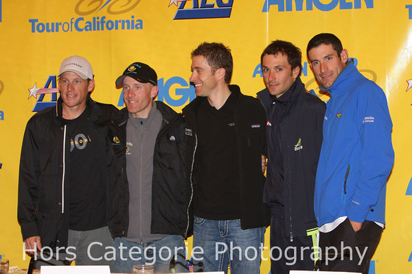 2009 Pre-Race Press Conference in Sacramento