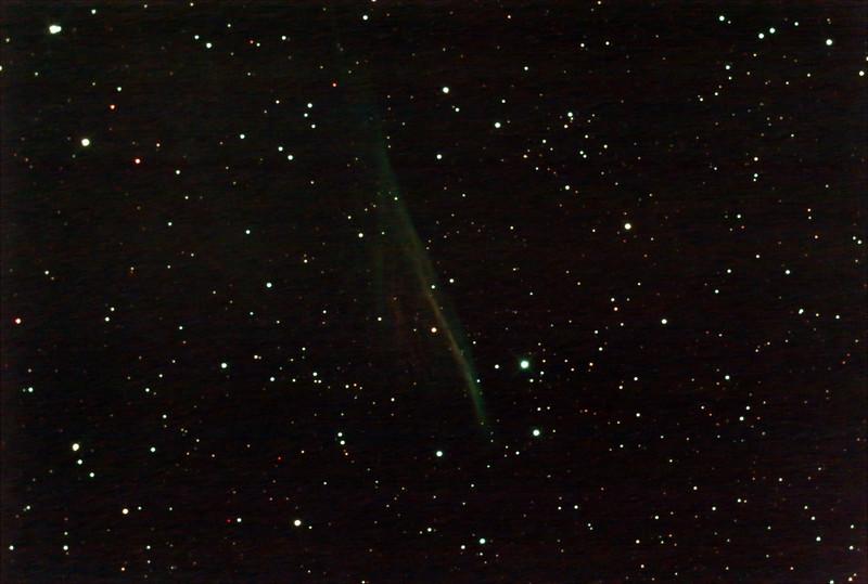 NGC2736 - RCW37 - Pencil Nebula - 4/2/2021 (Processed stack)