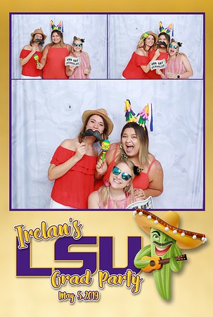 Irelan's LSU Grad Party
