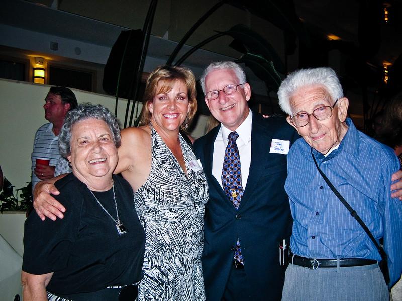------, Colleen Lockard, Tom Goeller, Father Goeller