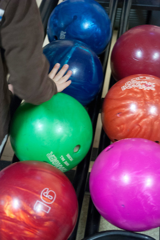 """. Kayla Rice/Reformer The Winter Carnival had its \""""bowling day\"""" at Brattleboro Bowl on Tuesday."""