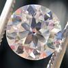 2.07ct Old European Cut Diamond, GIA J VS2 0