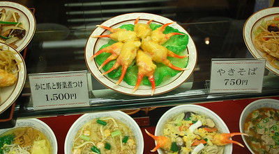 Plastic Food Models 2007