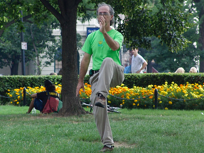 Tai Chi as a performance art