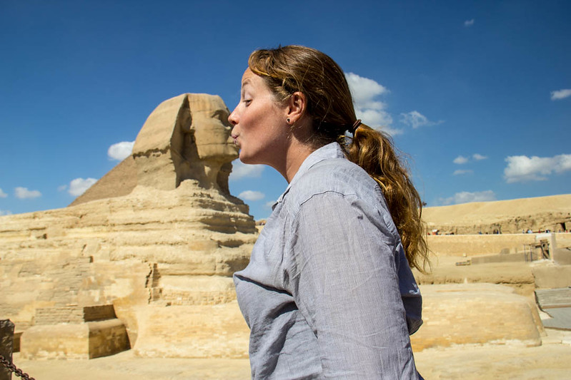 places to visit in Egypt - Sphynx - Lina Stock