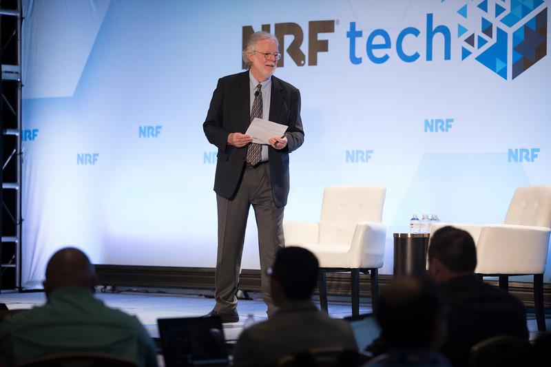 NRFtech 19 Brian Kilcourse at NRFtech 2019