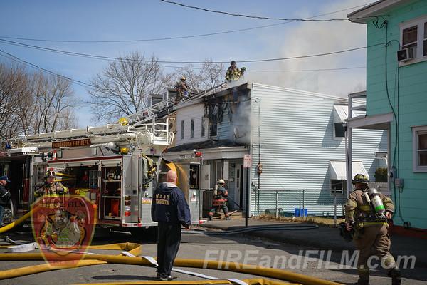 Schuylkill County - Shenandoah Borough - House Fire - 04/07/2018