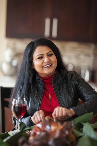 Nirmala Narine's Hudson Valley farm in New Paltz, NY. Nirmala also operates a retail store on her property, Nirmala's Kitchen. In her kitchen,