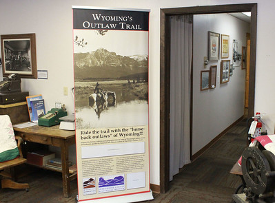 Wyoming's Outlaw Trail exhibit entry