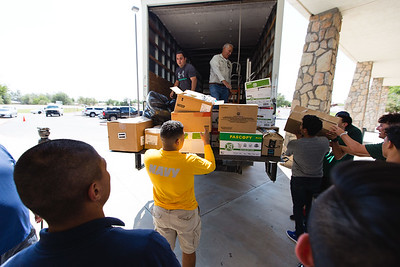 Socorro HS Harvey Donation Collection