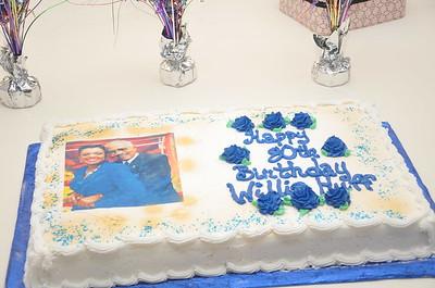 Willie Y. Huff 80th Birthday