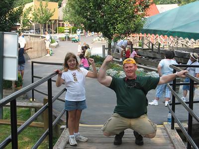 2007 August 4 - Katherine, LJ & Bevy go to Tweetsie Railroad