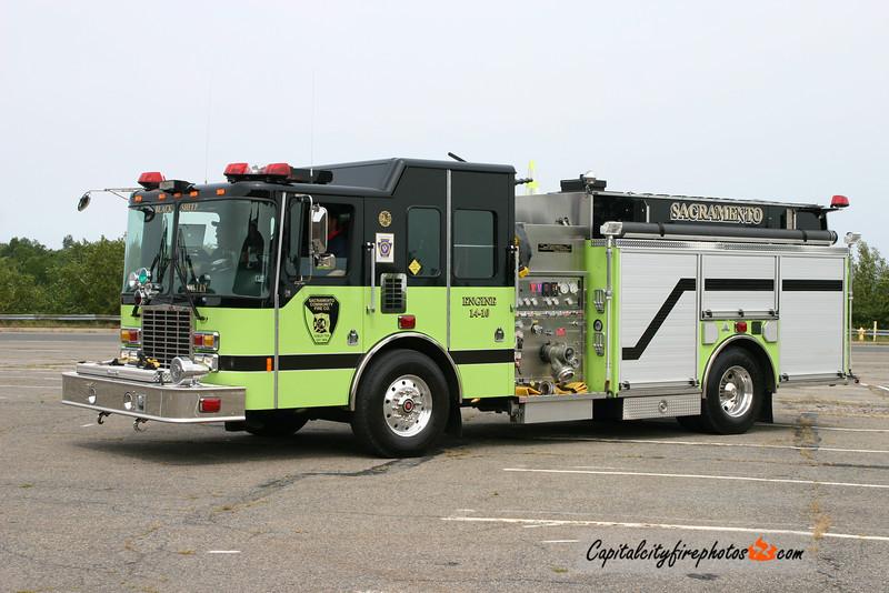 Sacramento Fire Co. (Hubley Township) Engine 14-10: 2007 HME Ahrens Fox 2000/1000