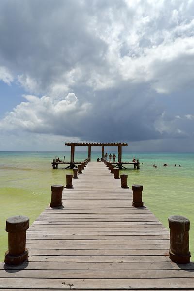 Pier - Playa del Carmen, Mexico - August 15, 2014