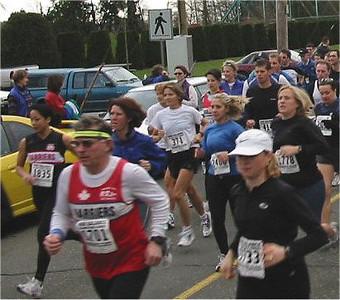 2003 Comox Valley Half Marathon - Start Scene 5