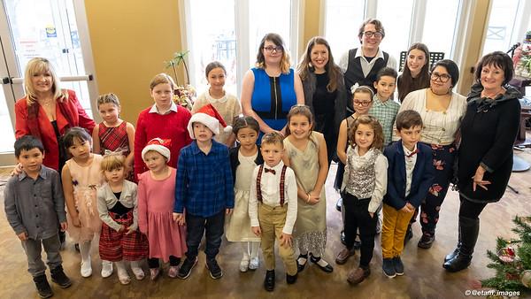 Montessori Mozarts Christmas 2019 Recital