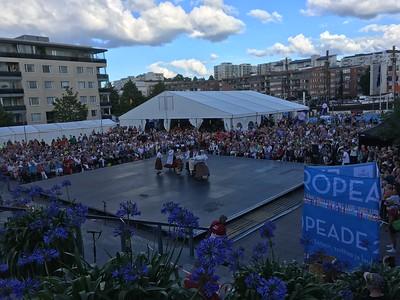 Europeade 2017, 26-30 July 2017