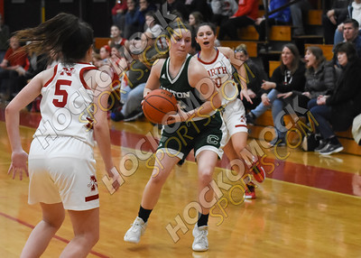 North Attleboro - Canton Girls Basketball 2-11-20