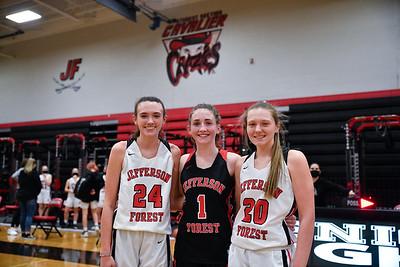 2021 Girls' Basketball Senior Night