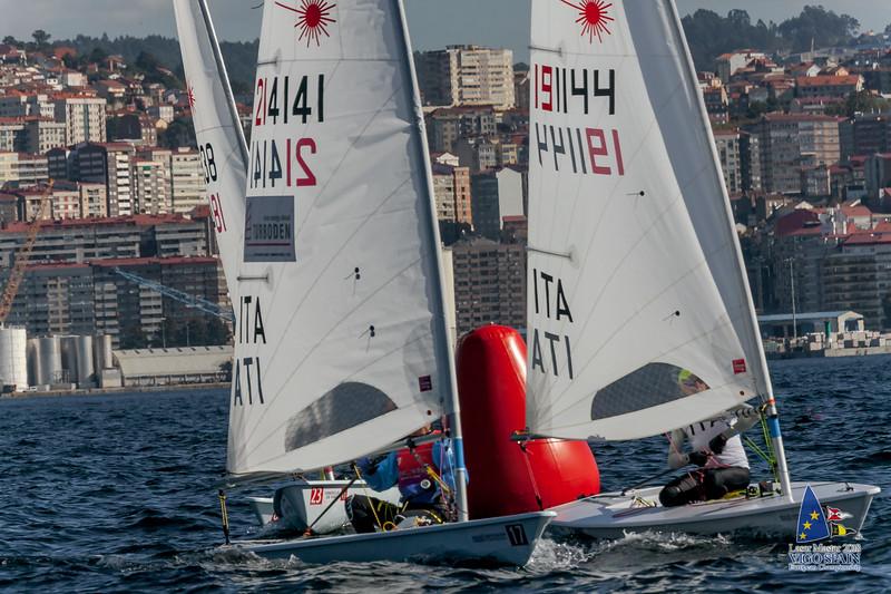 2018-10-09 · Day 3 · Vigo Laser Masters European Championship · 0458.jpg