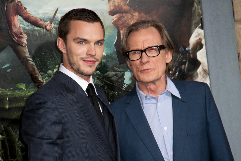 HOLLYWOOD, CA - FEBRUARY 26: Actors Nicholas Hoult and Bill Nighy attend the premiere of New Line Cinema's 'Jack The Giant Slayer' at TCL Chinese Theatre on Tuesday, February 26, 2013 in Hollywood, California. (Photo by Tom Sorensen/Moovieboy Pictures)