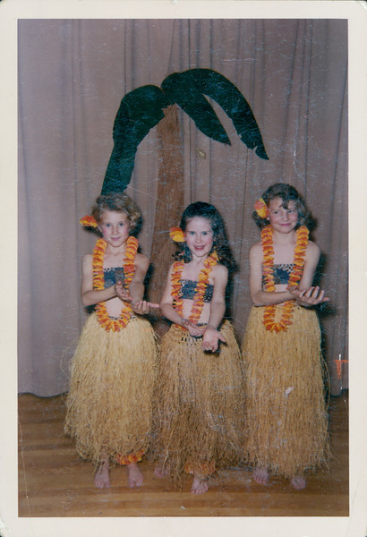 Georgia Sinfield, Lynn Adams, Vivian Sinfield  Possibly Developed March 1966